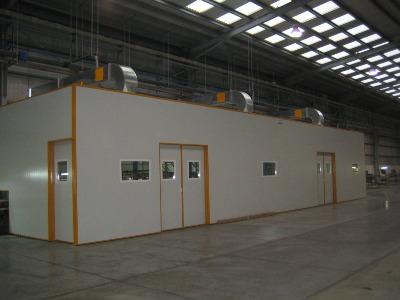 Insonorizacion acustica industrial ecoar for Cerramientos de interiores